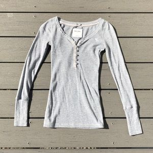 Abercrombie Kids Grey Thermal